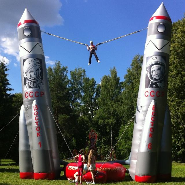 Банджи акробат Космос в аренду – идеальное решение для вашего мероприятия