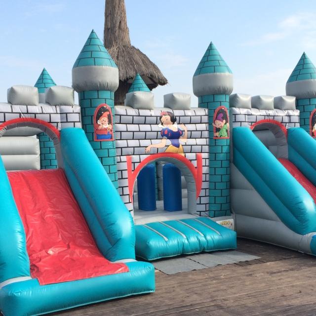 : Игровой комплекс Замок Белоснежки в аренду – идеальное решение для вашего мероприятия