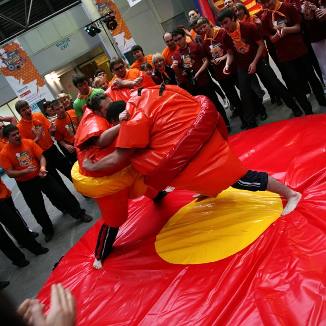 Борьба сумо в аренду – от party2go