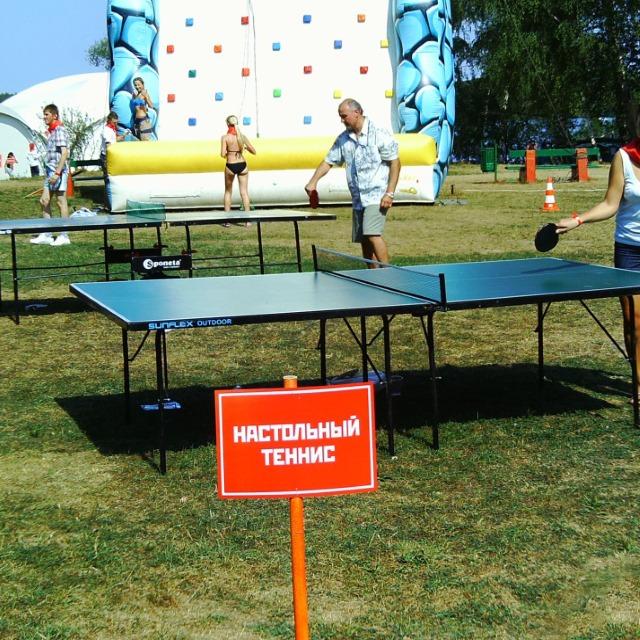 Настольный теннис в аренду – от party2go