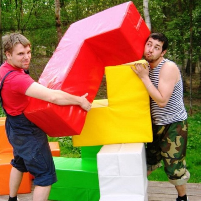 Головоломка «Кубик Рублика» в аренду – от party2go