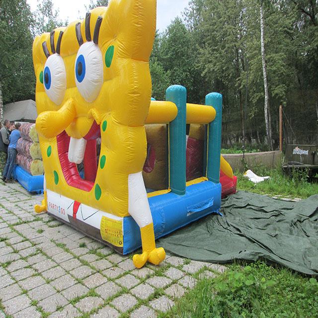 Игровой комплекс «Спанч-Боб» в аренду - Веселье на любой вкус