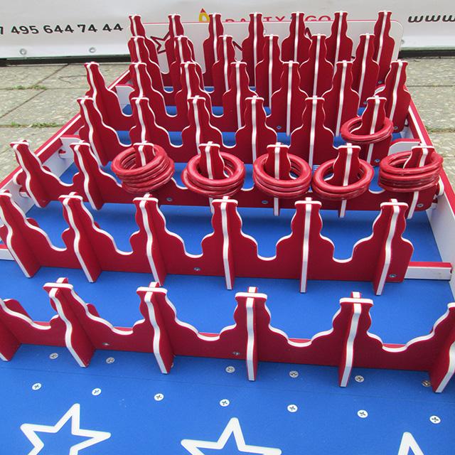 Игровой стол «Кольцеброс «Банки» в аренду - Веселье на любой вкус